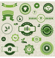 Nature label vector