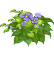 A flower plant vector