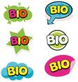 Bio mark vector