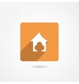 Doghouse icon vector
