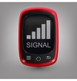 Red phone signal vector
