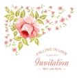 Awesome flower card vector