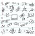School objects set vector