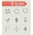 Check marks icons set vector