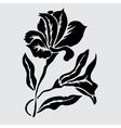 Decorative lily vector