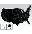 American map vector
