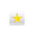 Yellow star for award vector
