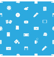 Data storage media blue and white pattern eps10 vector