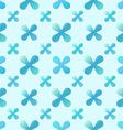 Blue creative seamless pattern vector