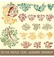 Ukrainian ornament vector