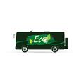 Eco bus vector