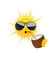Sun drink coconut milk vector