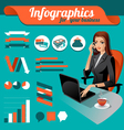 Business nfographics vector