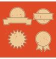 Retro emblem sign design elements vector