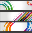 Abstract banners vector