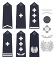 Chinese police insignia vector