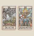 Tarot cards vector