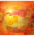 Orange background vector