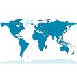 Relief world map vector