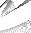 Wavy design vector