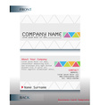 A business card vector