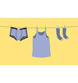 Mens underwear vector