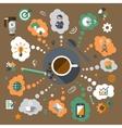 Coffee creative concept vector