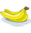 Cartoon food fruit banana vector