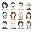 Set - avatars vector