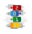 2015 color backgrund vector