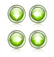 Button with download sign vector