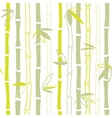 Green bamboo seamless pattern vector