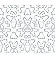 Dark monochrome color angular outline abstract vector
