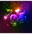 Shining happy new year - 2015 colorful background vector
