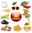 Vitamin e the origin vector