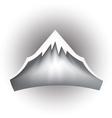 Mountain peak logo vector