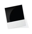Phote frame polaroid vector