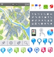 Map-icon-gps vector