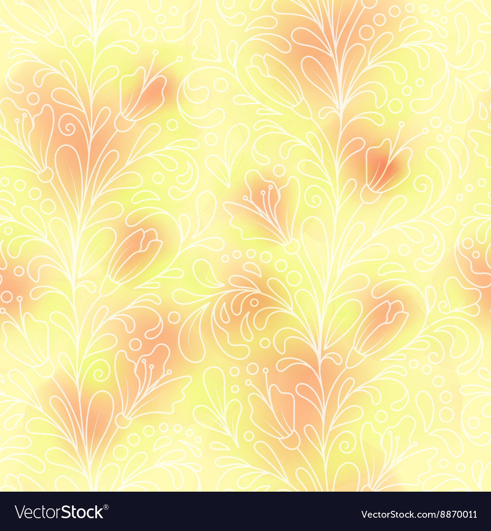 Seamless pattern consisting of decorative striped vector image