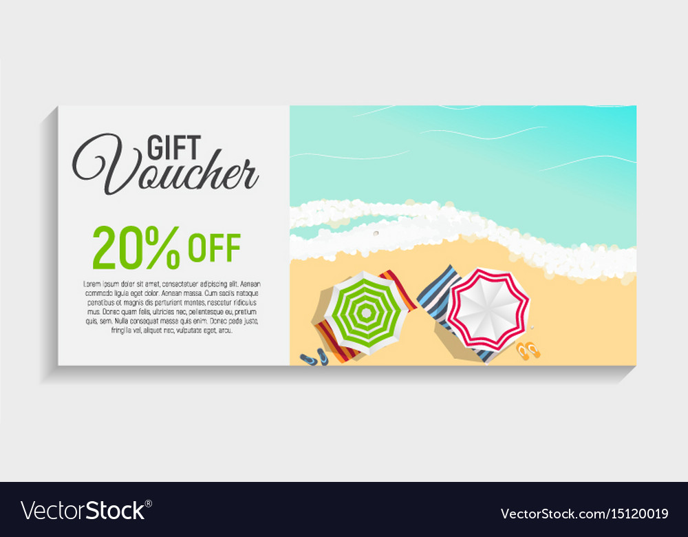 Gift voucher template background royalty free vector image gift voucher template background vector image yelopaper Choice Image