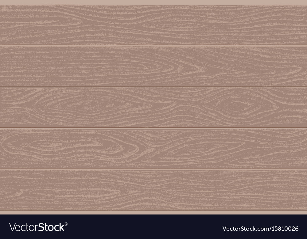 Wood plank texture easy to recolor vector image