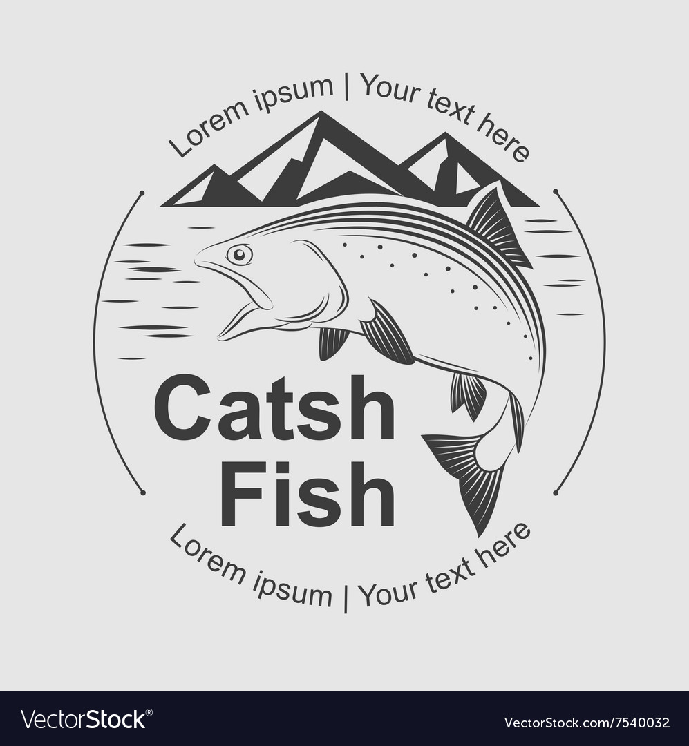 Catch fish symbol royalty free vector image vectorstock catch fish symbol vector image buycottarizona Gallery
