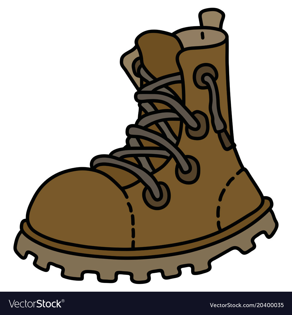 the leather lacing work shoe royalty free vector image rh vectorstock com show victoria show vector normal to plane