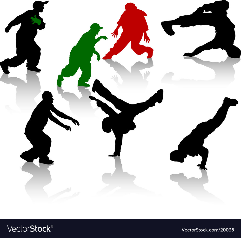Hip-hop vector image