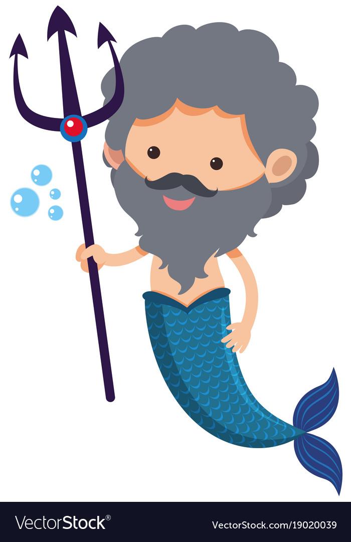 "56"" Neptune Trident Triton Greek Roman God Weapon Prop Mermaid ..."