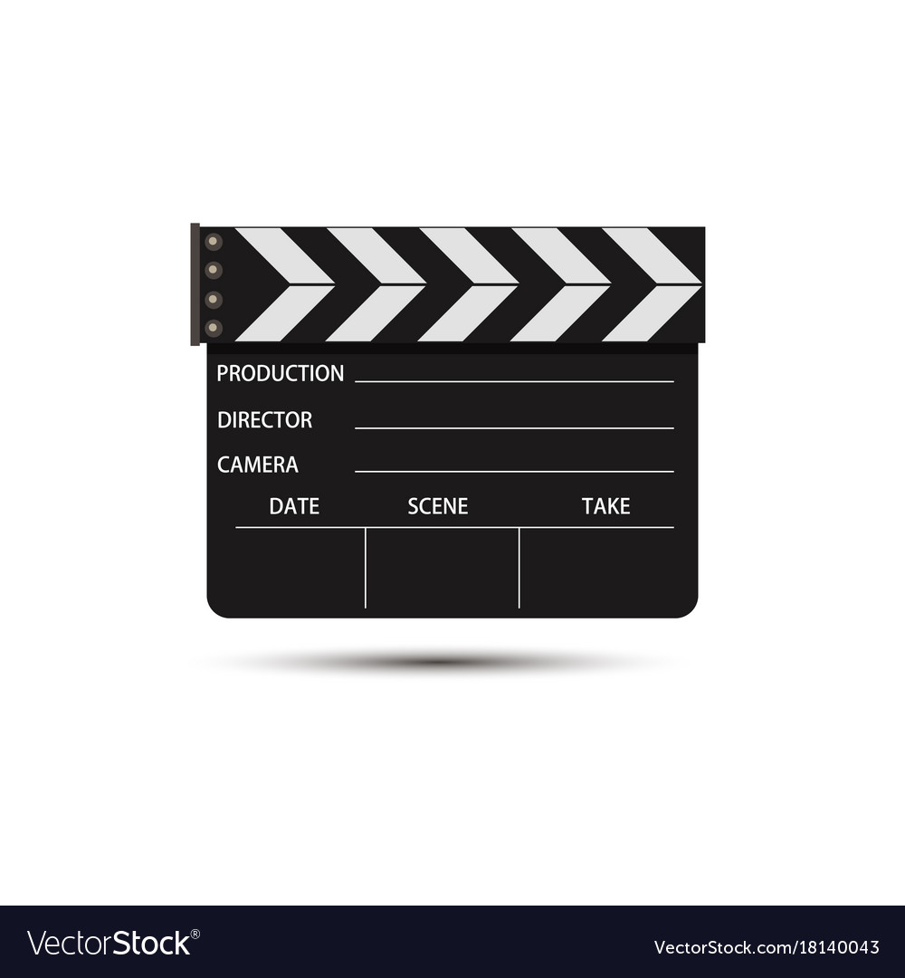 Film movie video icon production background vector image