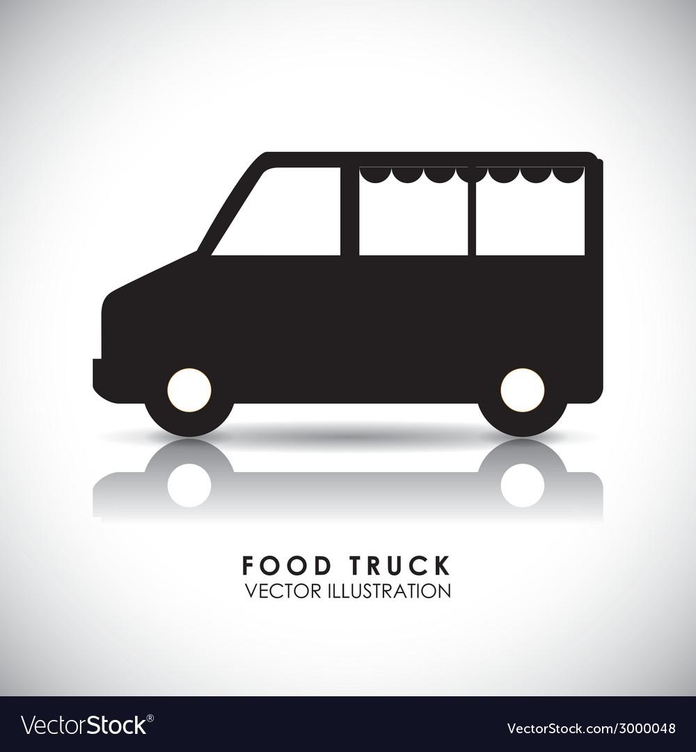 Van design vector image