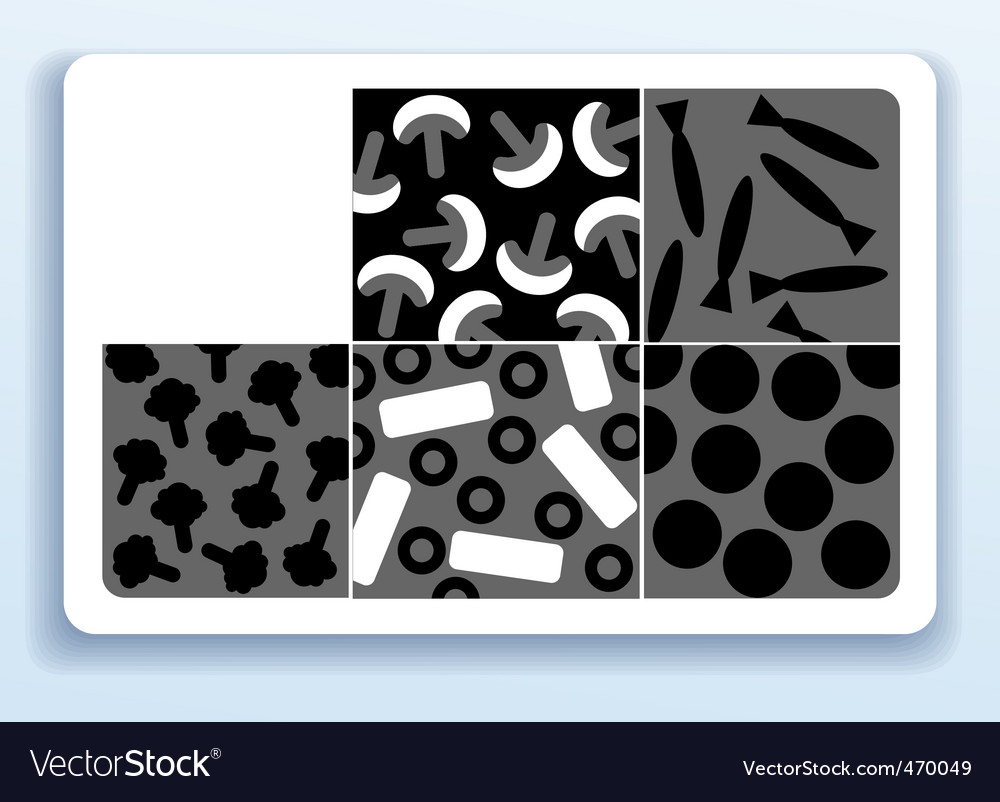 Pizza business card Royalty Free Vector Image - VectorStock