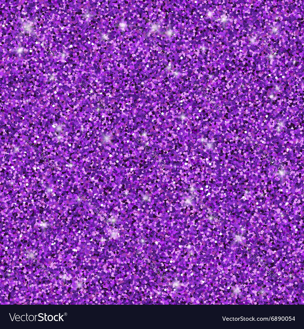 Purple glitter seamless pattern texture vector image