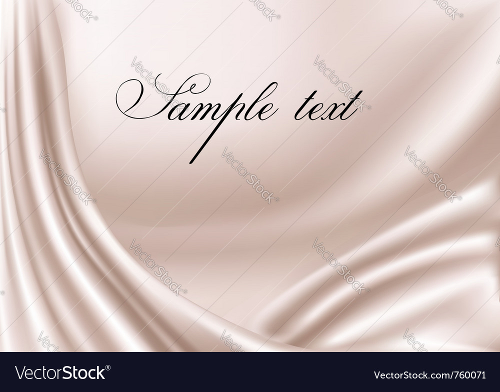 Elegant pink satin texture vector image
